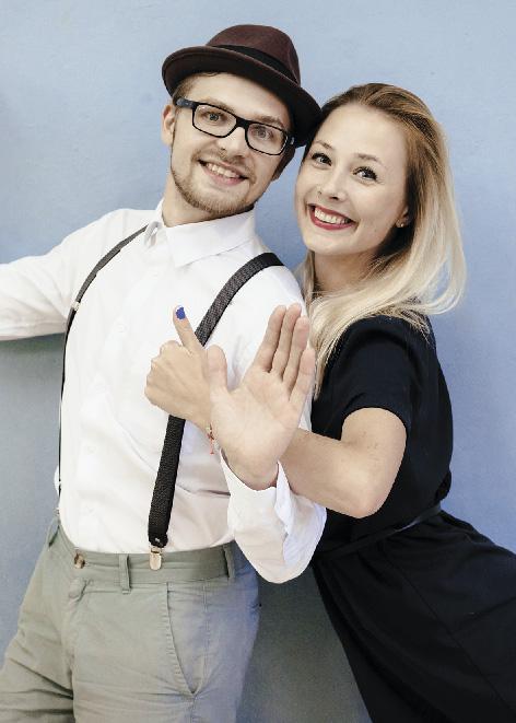 Игорь Семенов и Маша Федоринчик